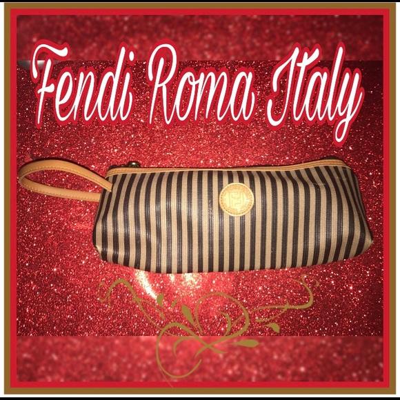 Fendi Roma Clutch